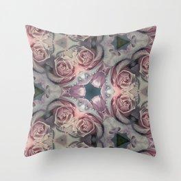 """""""Soft Pink III"""" Throw Pillow"""