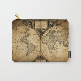 World Map 1752 Carry-All Pouch