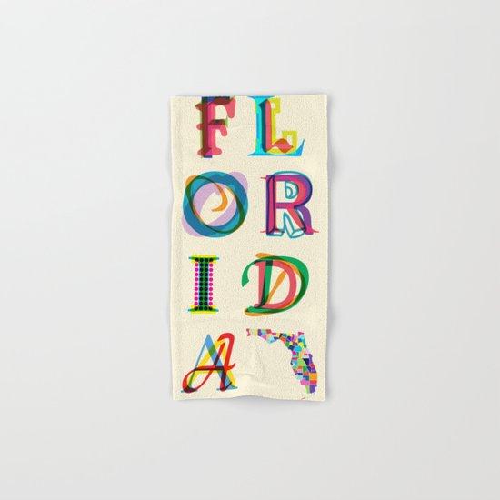 Florida Hand & Bath Towel