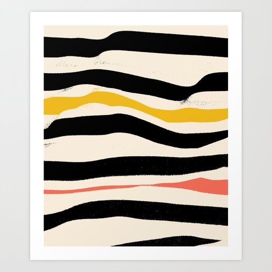 Night Swim — Matthew Korbel-Bowers Art Print