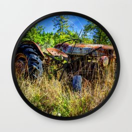 The Tractor Wall Clock