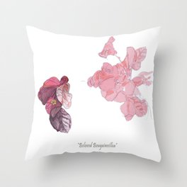 Beloved Bougainvillea Throw Pillow
