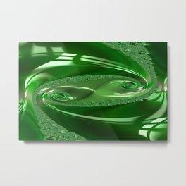Enamored Selenium Fractal 6 Metal Print