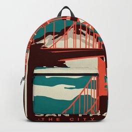 Vintage poster - San Francisco Backpack