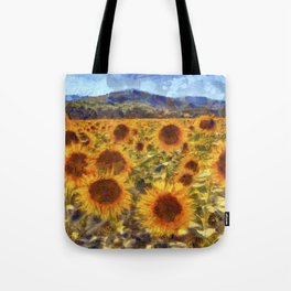 Sunflowers Vincent van Gogh Tote Bag