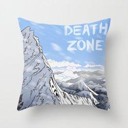Death Zone Throw Pillow
