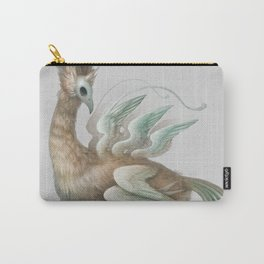 The Many-Winged Skullbird Carry-All Pouch