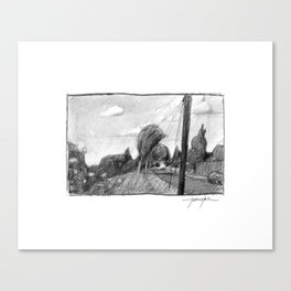 Sellwood Stroll Canvas Print