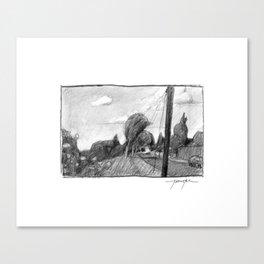 Sellwood Stroll Canvas Print