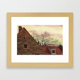 March in Poland Framed Art Print