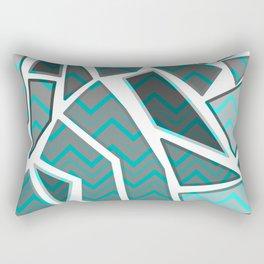 NL 7 Chevron Mosaic Rectangular Pillow