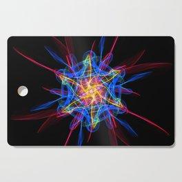 Silkweave / Neon Sigil 2 Cutting Board