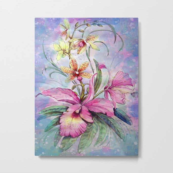 Orchids 06 Metal Print