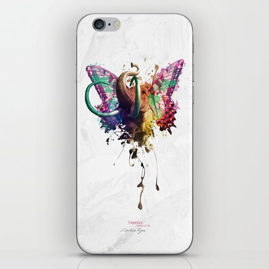 Elephant Need to Fly iPhone & iPod Skin