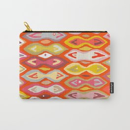 Raveena ikat Carry-All Pouch
