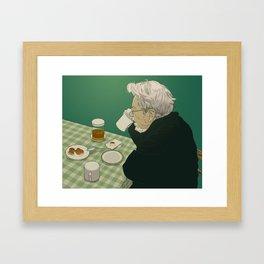 Meal Framed Art Print