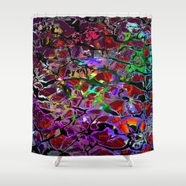into the deep water Shower Curtain