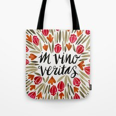 In Wine, There is Truth – Red Tote Bag