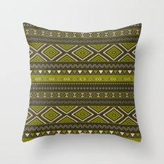 Tribal #2 * Ethno Ethnic Aztec Navajo Pattern Boho Chic Throw Pillow