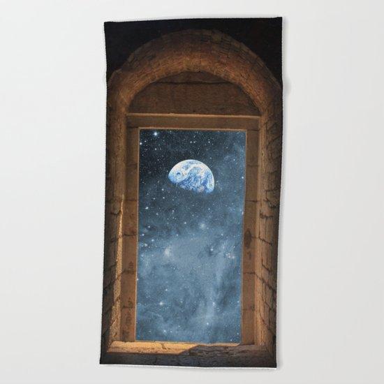 DOOR TO THE UNIVERSE Beach Towel
