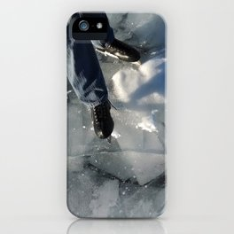 Sheets of Ice iPhone Case