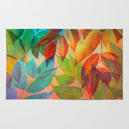 Autumn Lights and Colors Rug