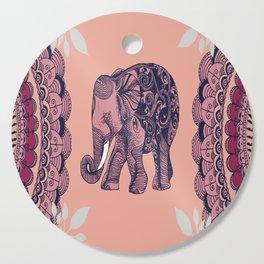 Bohemian Elephant Cutting Board