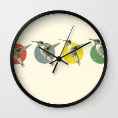 The Hummingbird Dance Wall Clock