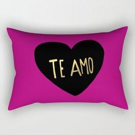 Te Amo II Rectangular Pillow