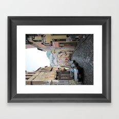 Streets of Brazil Framed Art Print