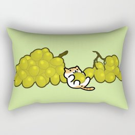 Neko Grapes Rectangular Pillow