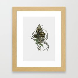 Mechanical Deep Framed Art Print