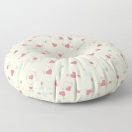 Letters for your sweetheart . Floor Pillow