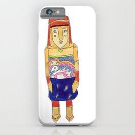 Guna Wood Dolls iPhone Case