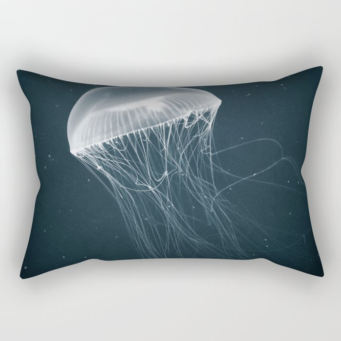 Jellyfish Glow Rectangular Pillow