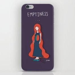 Emptyness iPhone Skin