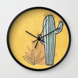 Simply Cactus Wall Clock
