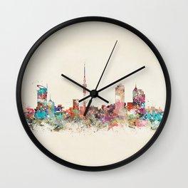 auckland new zealand Wall Clock
