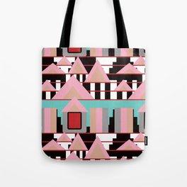 Postmodern City Skyline Tote Bag