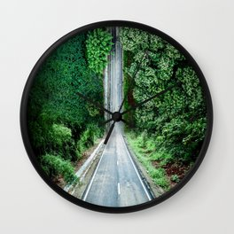 Inception Road Wall Clock