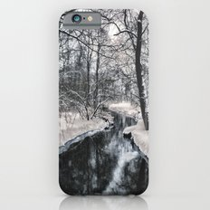 Almost frozen (3\4-BW, HDR) iPhone 6s Slim Case