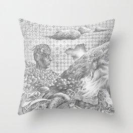 POWDER Throw Pillow