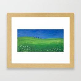 Cartwheel  Framed Art Print