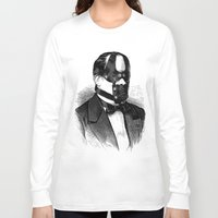 bdsm Long Sleeve T-shirts featuring BDSM XXX by DIVIDUS