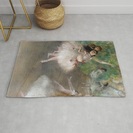 Dancers 1 By Edgar Degas | Reproduction | Famous French Painter Rug