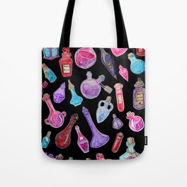Witchcraft: Witches Potions Tote Bag