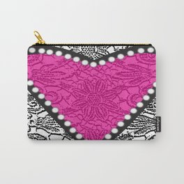 Lacy Love Carry-All Pouch