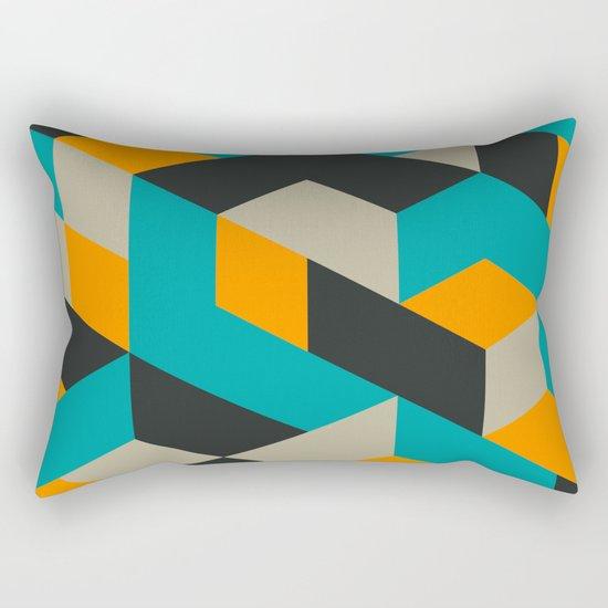Tri V Rectangular Pillow