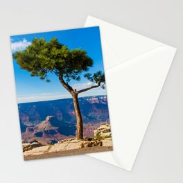 Grand Canyon pine tree Stationery Cards