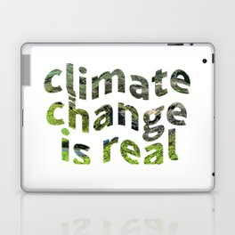 Climate Change Global Warming Is real Laptop & iPad Skin